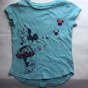 ❤️5 FOR $25   Toddler Girl Minnie Mouse Tee